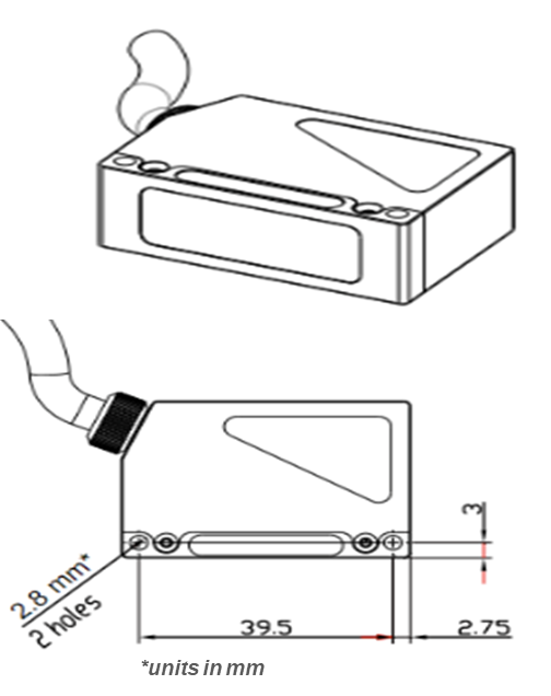 AR100 Mechanical Drawings with Dimensions