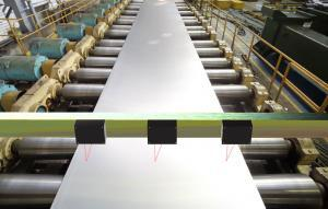 AR700 Aluminum Thickness Measurement on Rolling Mill