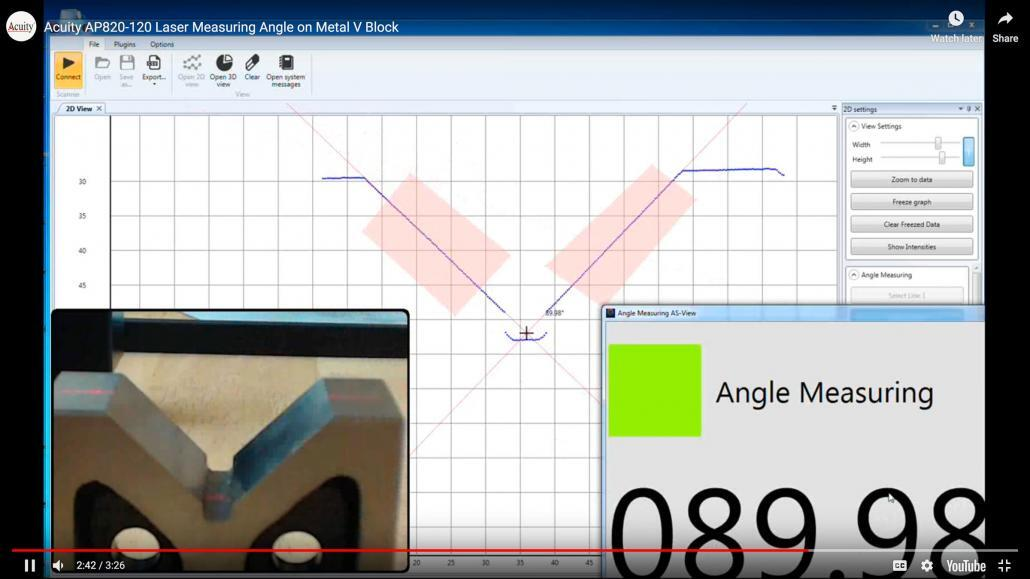Fast and Accurate Angle Measurement