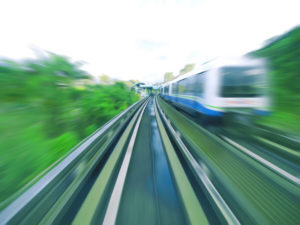 High Speed Train Pantograph Inspection
