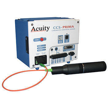 ccs prima confocal displacement sensor from acuity laser