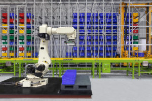Hoist Application on a Palletizer