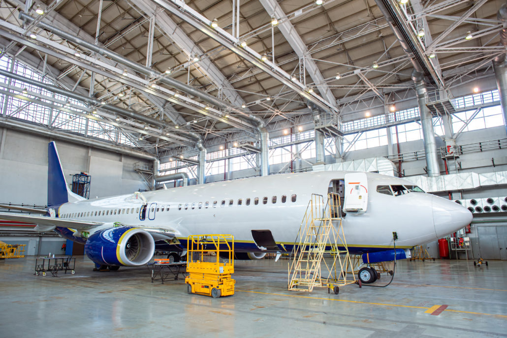 Static and dynamic displacement testing of aircraft structures