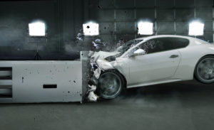 Crash Test Sensors monitoring