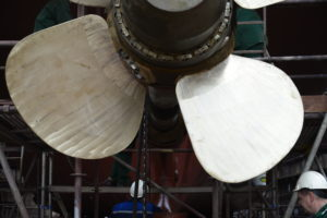 Propeller Blade Profiling and Measuring